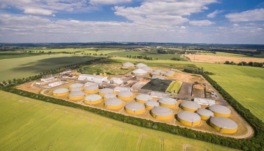 große Biogasanlage