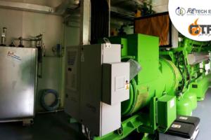 BHKW-Pumpen-Motor