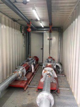 Pumpencontainer