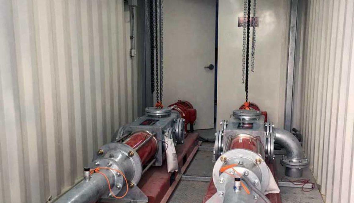Pumpen-Container